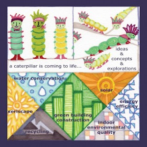 Dell Childrens Medical Center of Greater Texas. LEED factoid concept by Annie Taylor. Concept Tile.