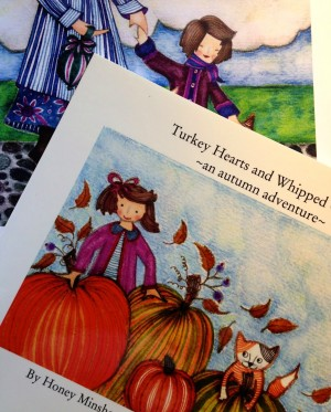 Turkey Hearts and Whipped Cream Paperback Version printed by Blurb