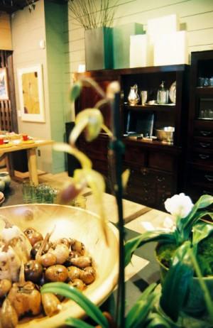Visual Merchandising 'Gardens' Retail Shop, Austin, Texas Back Room