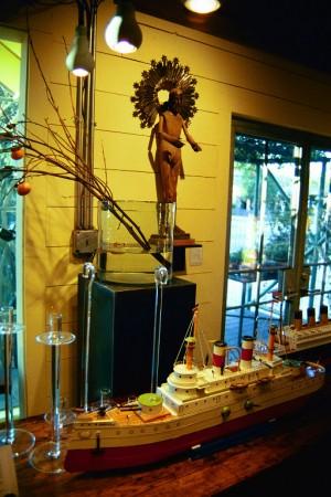 Visual Merchandising 'Gardens' Retail Shop, Austin, Texas Titanic Crystal Mathias and Santos