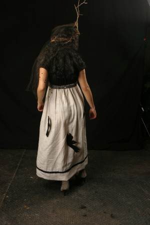 Blackbird Dress, back modeled by Symphonia for Winterize