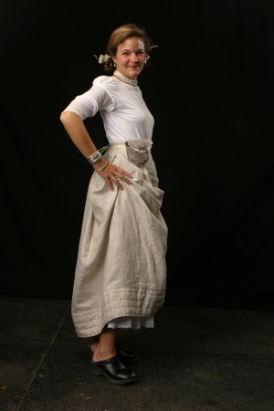 Bustle Skirt for Winterize by Shauna Smith and Annie Taylor