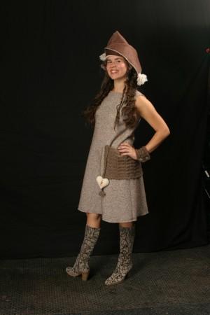 Joey Dress for Winterize modeled by Kristinia