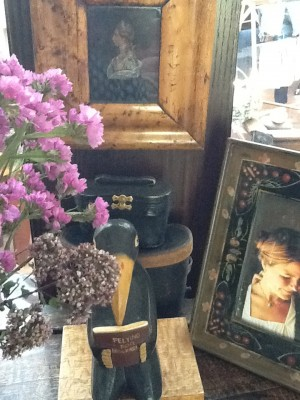 Fresh Configurations Longridge Lookbook Warm Wooden Frames on English Chest with Crow