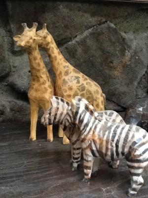 Fresh Configurations Longridge Lookbook Folk Art Animals from Noah's Ark Set