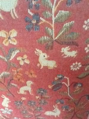 Fresh Configurations Longridge Lookbook Lee Jofa Tapestry on Prayer Chair