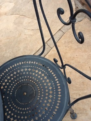 Fresh Configurations Longridge Lookbook Iron Bistro Chair