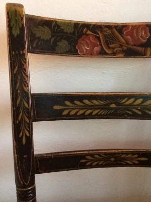 Fresh Configurations Longridge Antique Chair with Roses