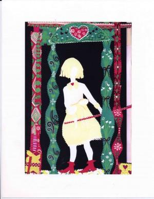 Shop Girl in the Door for Annie's Omnium